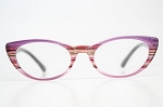 Colorful Pointy Cateye Glasses Vintage Style